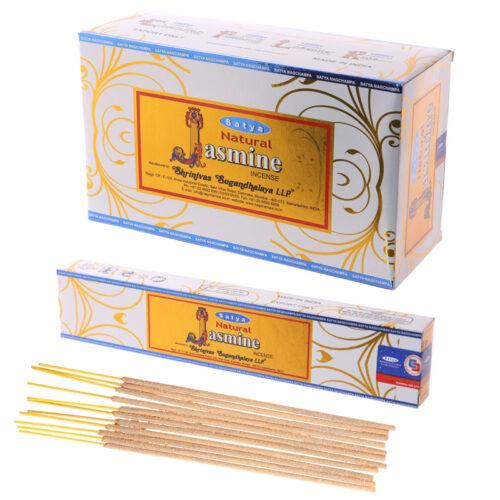 Αρωματικά Στικ Satya Natural Jasmine - Γιασεμί 15γρ