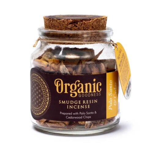 Ρητίνη Θυμιάματος Organic Goodness Palo Santo & Cedar 40gr