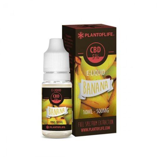 Plant Of Life CBD Eliquid Banana 10ml