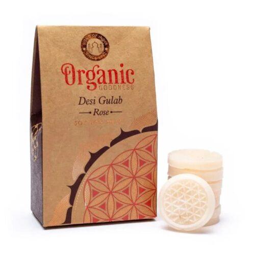 Wax Melts Organic Goodness Desi Gulab Rose 40gr