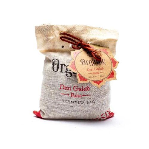Αρωματικά Ντουλάπας Organic Goodness Rose - Τριαντάφυλλο 150γρ
