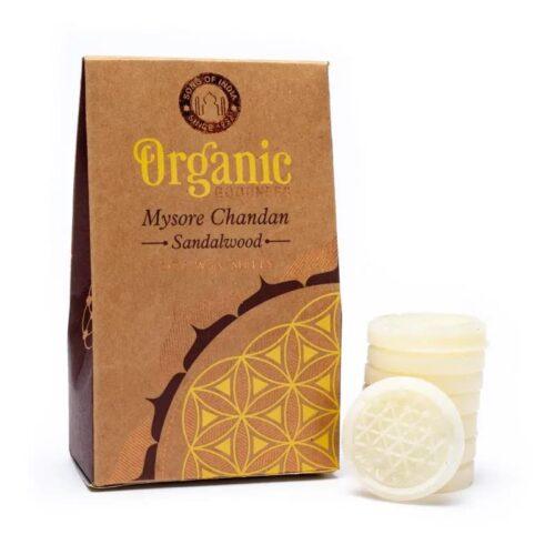 Wax Melts Organic Goodness Mysore Chandan Sandalwood 40gr