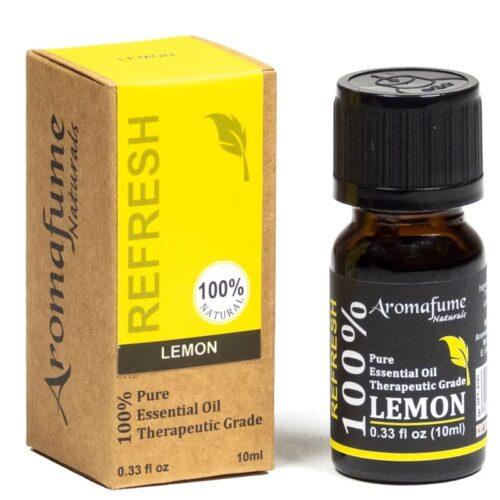 Αιθέριο Έλαιο Λεμόνι 10ml - Aromafume