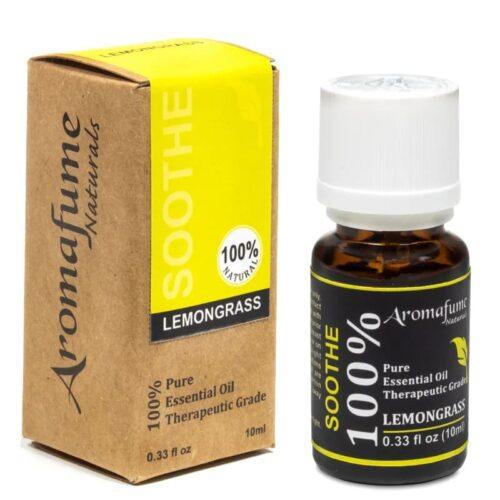 Αιθέριο Έλαιο Λεμονόχορτο 10ml - Aromafume
