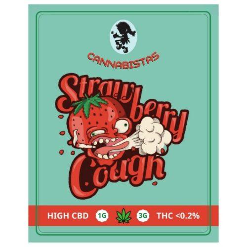 Ανθοί Κάνναβης Strawberry Cough CBD – Cannabistas