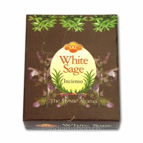 Αρωματικοί Κώνοι SAC White Sage – Λευκό Φασκόμηλο