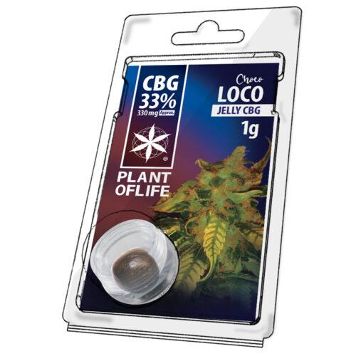 Chocoloko Jelly CBG 33% – Plant Of Life