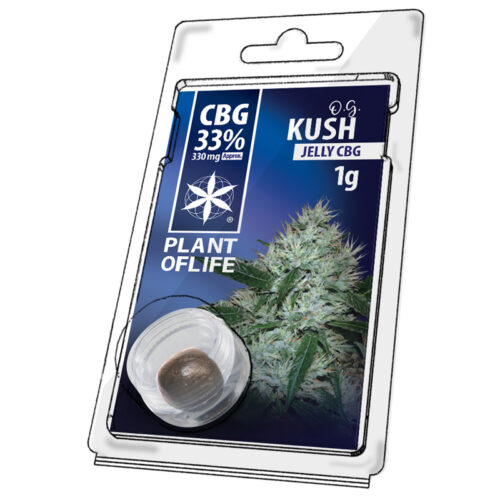 OG Kush Jelly CBG 33% – Plant Of Life