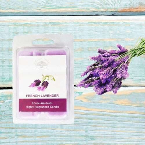 Wax Melts Green Tree French Lavender – Λεβάντα 80γρ