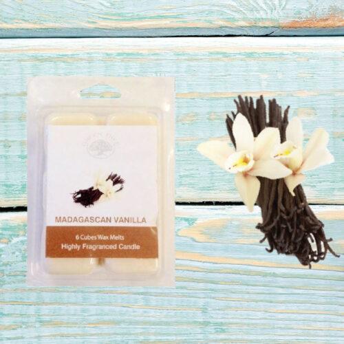 Wax Melts Green Tree Madagaskan Vanilla – Βανίλια 80γρ