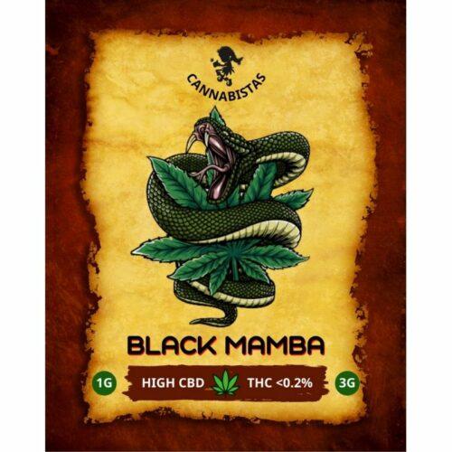 Ανθοί Κάνναβης Black Mamba CBD – Cannabistas