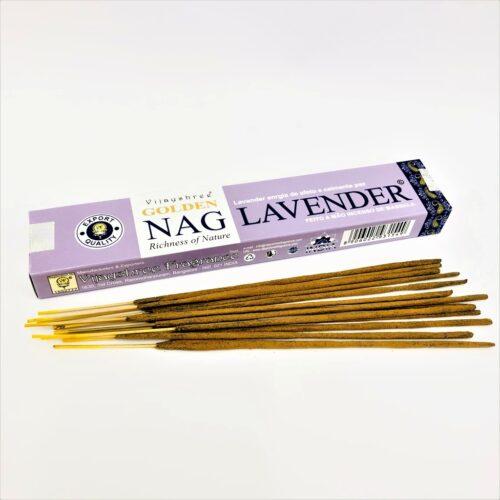 Αρωματικά Στικ Golden Nag Lavender – Λεβάντα 15γρ
