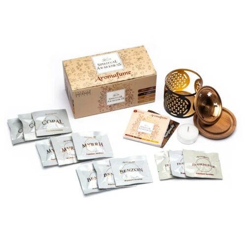 Καυστήρας Αρωματικών Κύβων Aromafume Spiritual Awareness Set