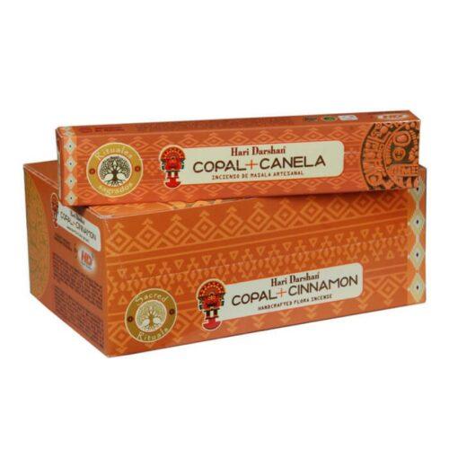 Αρωματικά Στικ Hari Darshan Copal Cinnamon – Κοπάλι Κανέλα15γρ