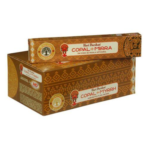 Αρωματικά Στικ Hari Darshan Copal Myrrh – Κοπάλι Μύρο 15γρ