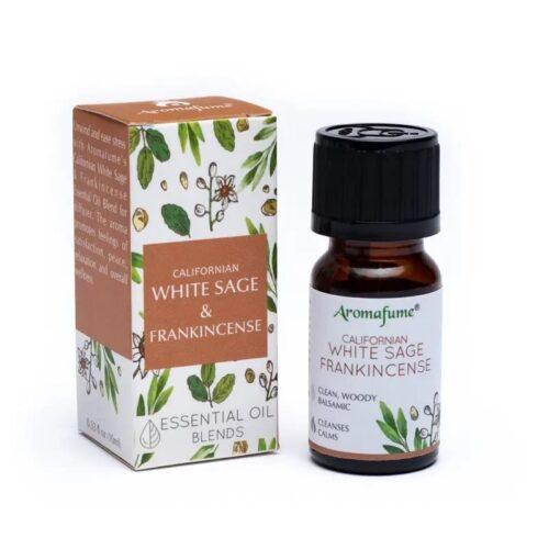 Μείγμα Αιθέριων Ελαίων Aromafume White Sage Frankincense 10ml