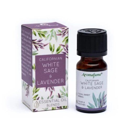 Μείγμα Αιθέριων Ελαίων Aromafume White Sage Lavender 10ml