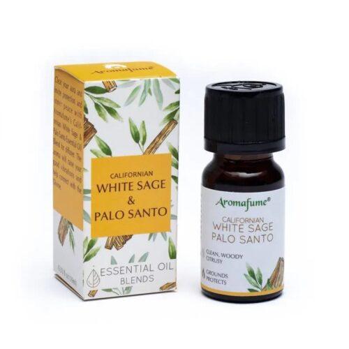 Μείγμα Αιθέριων Ελαίων Aromafume White Sage Palo Santo 10ml