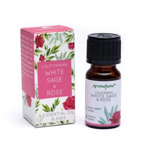 Μείγμα Αιθέριων Ελαίων Aromafume White Sage Rose 10ml
