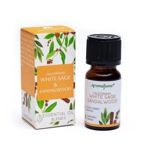 Μείγμα Αιθέριων Ελαίων Aromafume White Sage Sandalwood 10ml